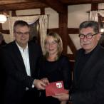 Michael Haupt, Ines Janker-Ungermann und Dr. Kurt Berlinger.